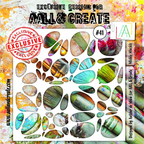 AALL & CREATE - Stencils - set number 41
