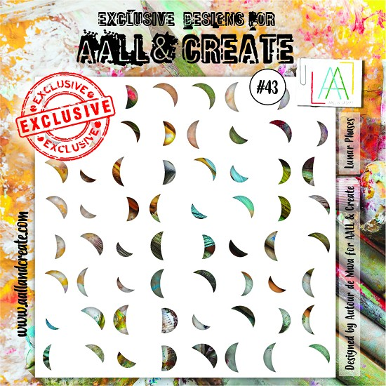 AALL & CREATE - Stencils - set number 43