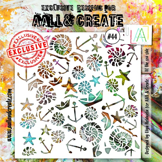 AALL & CREATE - Stencils - set number 44