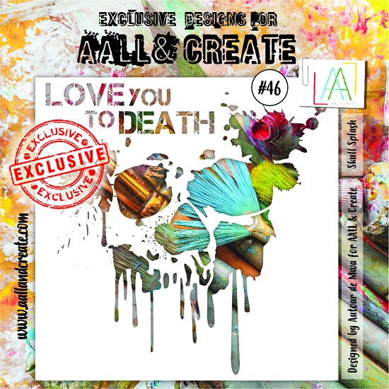 AALL & CREATE - Stencils - set number 46