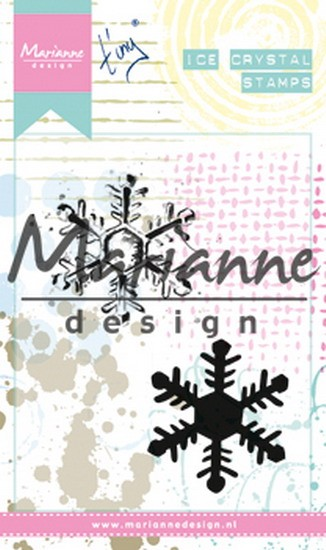 Marianne Design - Clearstamp - Tiny`s Mixed Media Ice Crystals