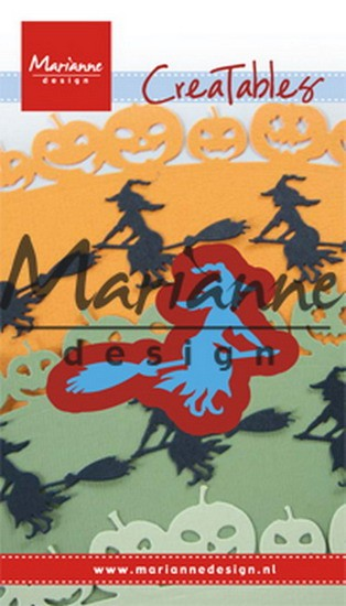 Marianne Design - Creatable - Witch on Broomstick