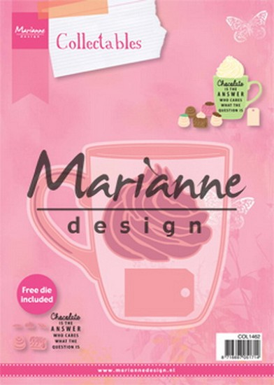 Marianne Design - Collectable - Hot chocolate mug (incl. COL 1366 for free)