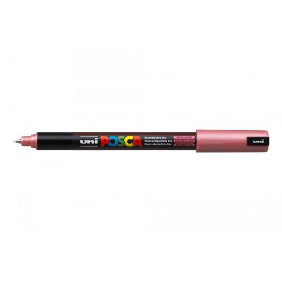 Posca Verfmarker - Extra Fijne Gekalibreerde Punt 0.7 mm - Metallic Rood