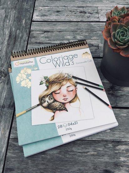 Kleurboek - Coloriage Wild door Emmanuelle Colin - deel 3
