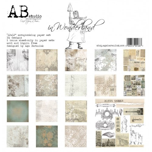 Collection Kit - AB Studio - In Wonderland