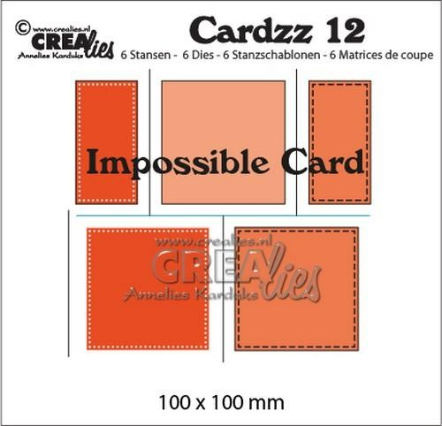 Stansmal Crealies - Cardzz no 12 - Impossible card