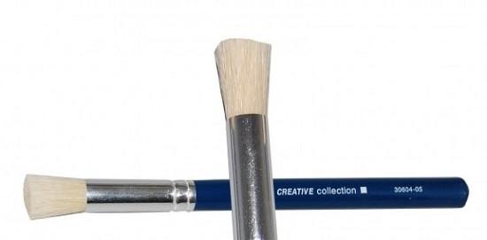 Vaessen Creative - Tamponeerkwast Varkenshaar 604 - #4