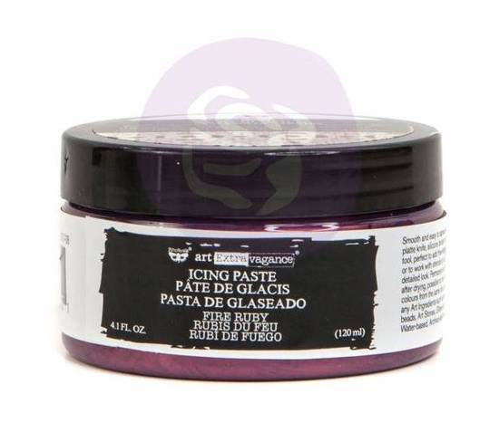 Finnabair Icing Paste - Fire Ruby
