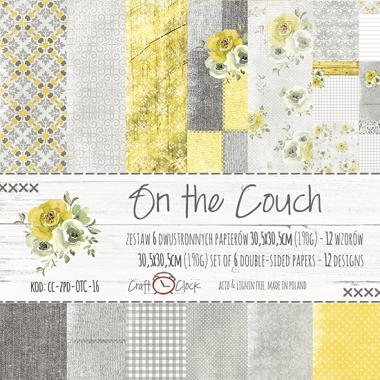 "Craft-O-Clock - Collection Kit 12"" x 12"" - On the Couch"
