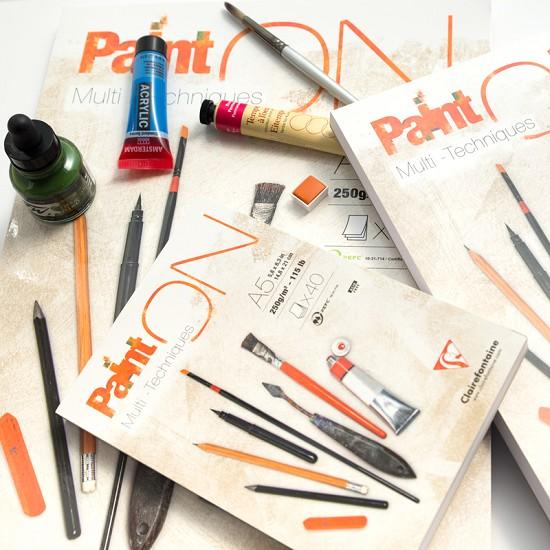 Clairefontaine - PaintON papier - Multi-Techniques - A5