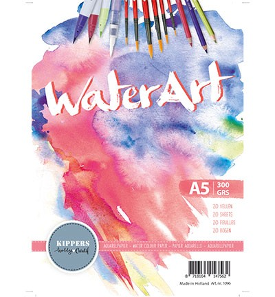 WaterArt - Aquarelpapier - 300 grams - A5 (20vl)