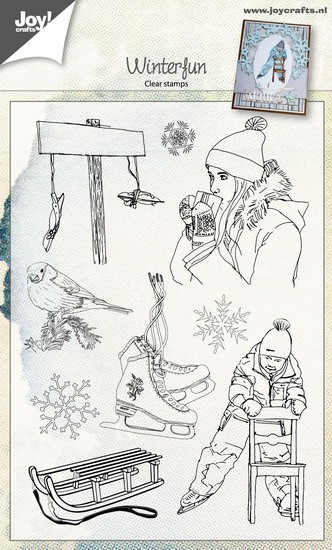 Joy! Crafts - Clearstamps - Winterfun