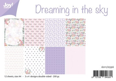 Joy! Crafts - Paperpad A4 - Dreaming in the sky