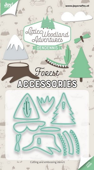 DenDennis - Little Woodland Adventures - Cutting Die Boselementen