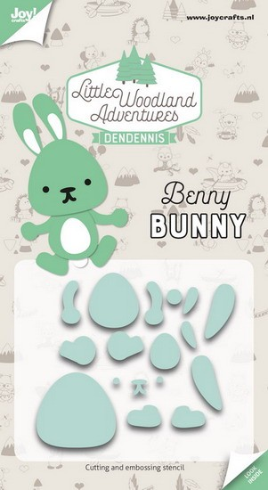 DenDennis - Little Woodland Adventures - Cutting Die Benny Bunny (konijn)