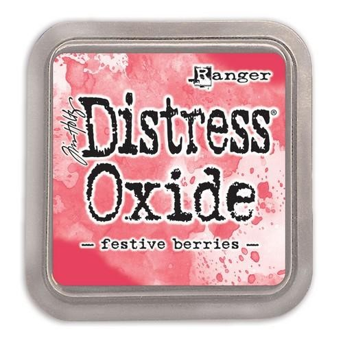 Distress Oxides Ink Pad - Festive Berries