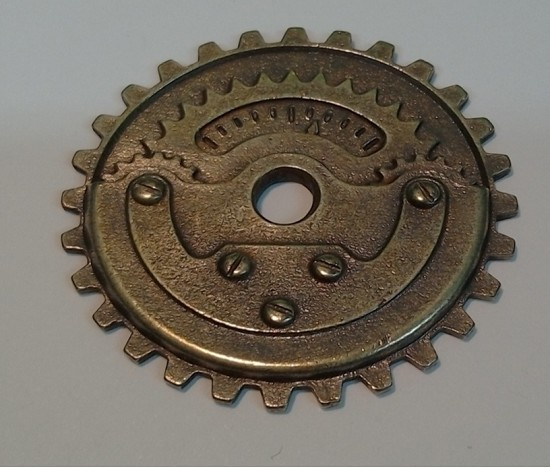 Metal Charm - MitFORM Castings - Gears_assembly_1