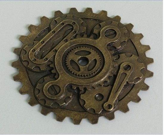 Metal Charm - MitFORM Castings - Gears_assembly_2