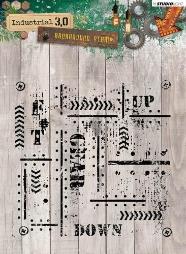 Studio Light - Industrial 3.0 - Clearstamp STAMPIN321
