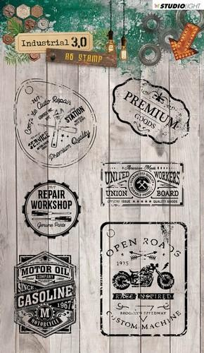 Studio Light - Industrial 3.0 - Clearstamp STAMPIN318