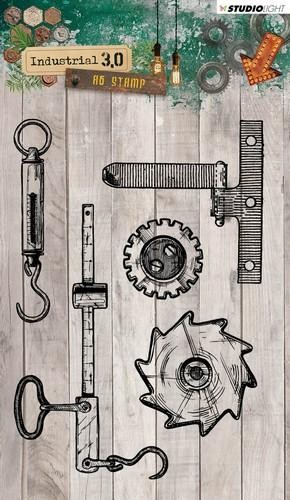 Studio Light - Industrial 3.0 - Clearstamp STAMPIN317