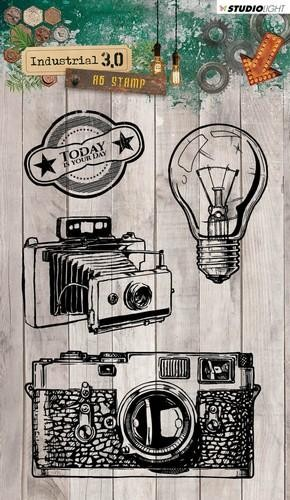 Studio Light - Industrial 3.0 - Clearstamp STAMPIN316