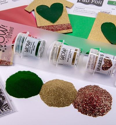 WOW! Embossing Powder - Trios! Christmas Cracker