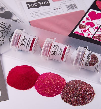 WOW! Embossing Powder - Trios! Red Letter Day