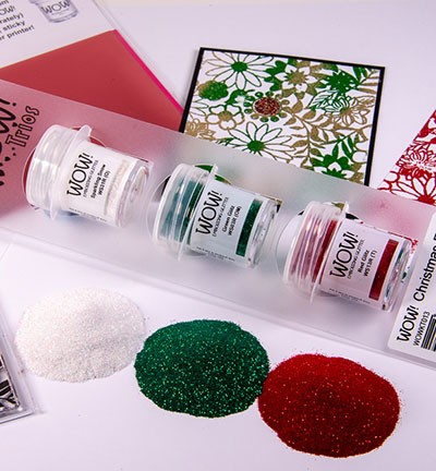 WOW! Embossing Powder - Trios! Christmas Eve