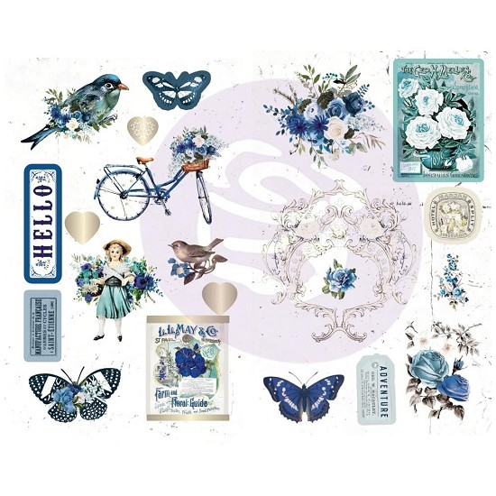 "Prima Marketing - Georgia Bues - Chipboard Stickers 5""X8"" 2/Pkg"
