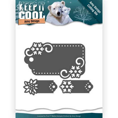 Dies - Amy Design - Keep it Cool - Cool Tags