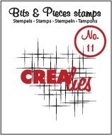 Clearstamp Crealies - Bits & Pieces - Sparkle nr 11