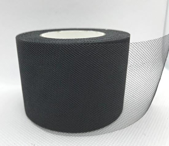 Tule - 5cm breed - Zwart