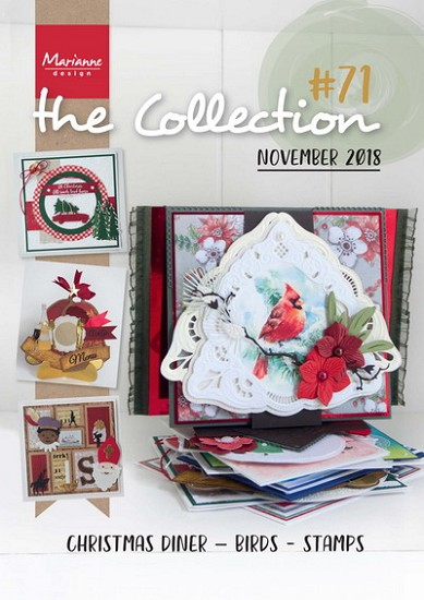 Marianne Design - Tijdschrift The Collection #71