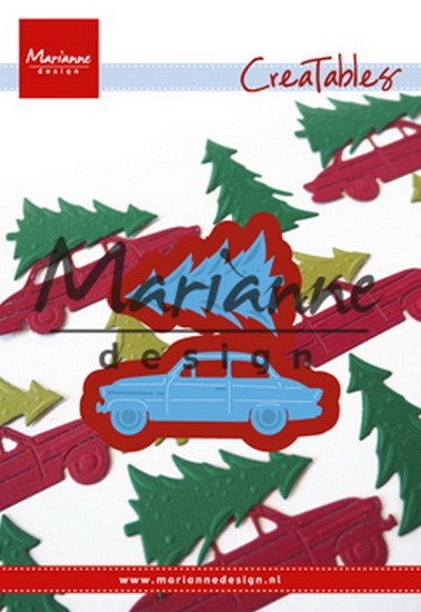 Marianne Design - Creatable - Driving home for Christmas