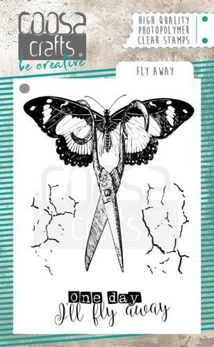 COOSA Crafts - Clearstamps A7 - Fly away