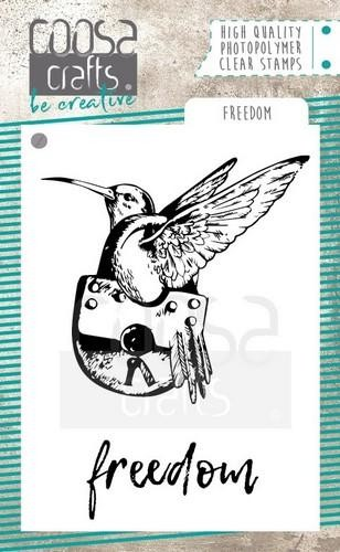 COOSA Crafts - Clearstamps A7 - Freedom