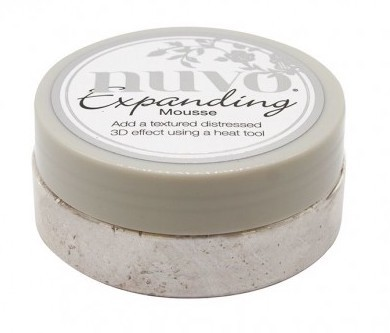 Nuvo - Expanding Mousse - Worn Linen
