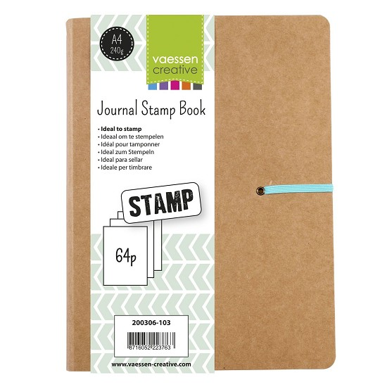 Vaessen Creative - Creative Journal - Stamp Book A4