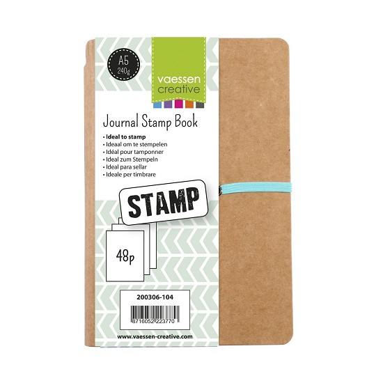 Vaessen Creative - Creative Journal - Stamp Book A5