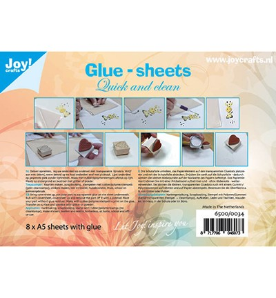 Joy! Crafts - Glue Sheets - A5 (8 vel)