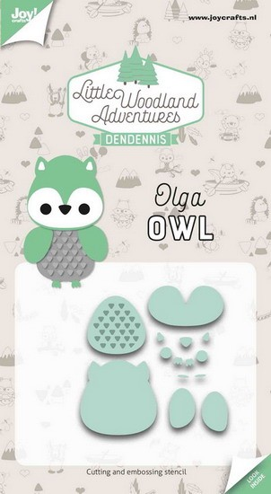 DenDennis - Little Woodland Adventures - Olga (Owl)