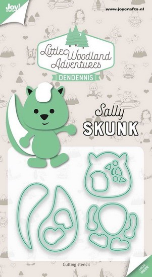 DenDennis - Little Woodland Adventures - Sally Skunk (Stinkdier)