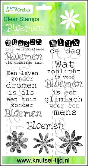 Clearstamps Anna Gretha Design - Set Bloemen (2210181)