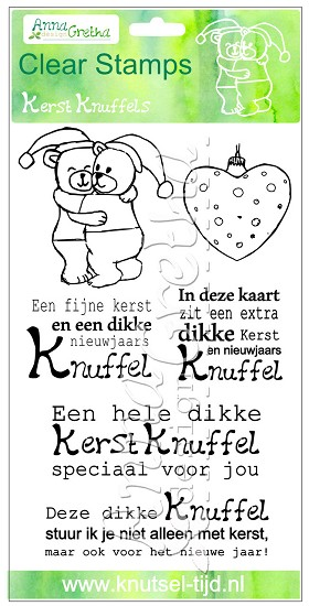 Clearstamps Anna Gretha Design - Set Kerst Knuffels (2210162)