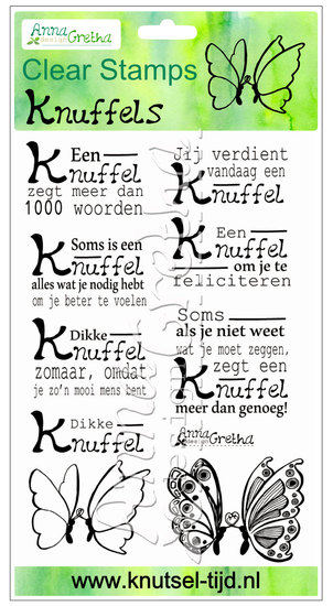 Clearstamps Anna Gretha Design - Set Knuffels (2210161)