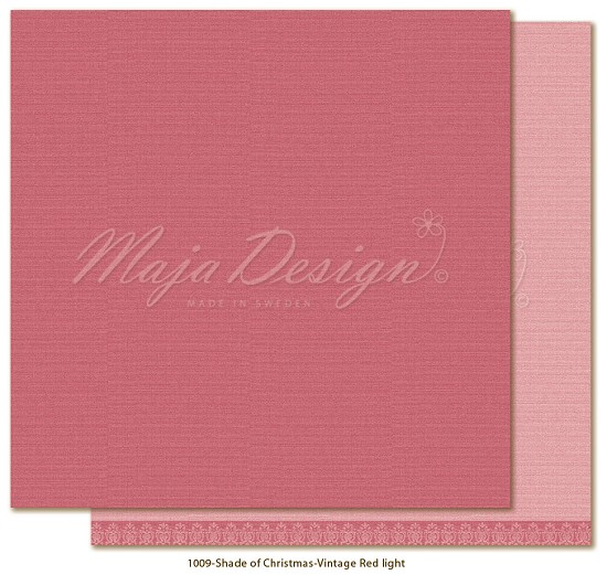 Maja Design - Monochromes - Shades of Christmas  - Vintage Red Light