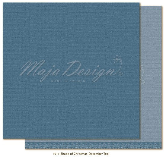 Maja Design - Monochromes - Shades of Christmas  - December Teal