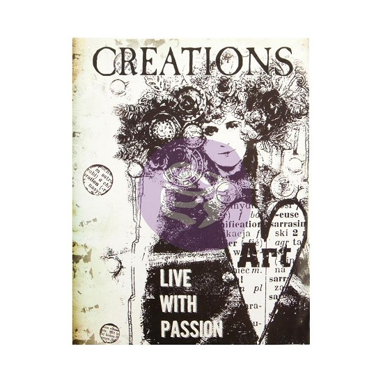 "Finnabair - Art Daily - Planner Insert 6""X7.7"" - Creation"